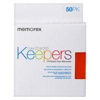 Memorex 50-pk. CD/DVD Keepers