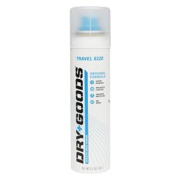 DRY GOODS Athletic Spray Powder, Travel Size, Original, 2.1 oz