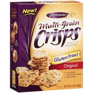 Crunchmaster Original Multi Grain Crisps Crackers, 4.5 oz