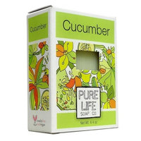 Pure Life Soap Cucumber, 4.4 Ounce