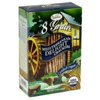 Venus 8-Grain Organic Flatbread, Mediterranean Delight 5-Ounce Boxes (Pack of 6)