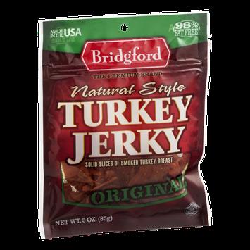 Bridgford Natural Style Turkey Jerky Original