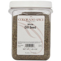 Colorado Spice Dill Seed, Whole, 20-Ounce Jars (Pack of 2)