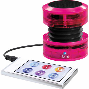 Sdi Techonlogies Inc. iHome iHM60 Rechargeable Mini Speaker - Pink Neon