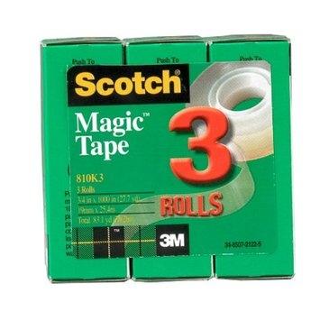 Scotch Magic Tape 3 Rolls