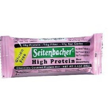 Seitenbacher High Protein Strawberry Bar 60g (12-pack)