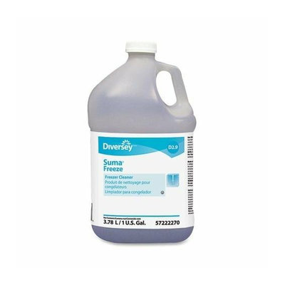 Diversey 5722227 Freezer Cleaner 1Gal Clear/Blue