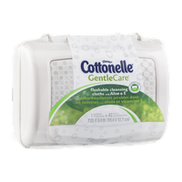 Kleenex Cottonelle GentleCare Flushable Cleansing Cloths with Aloe & E - 42 CT