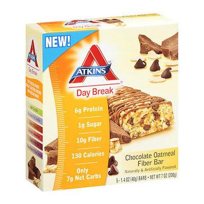 Atkins Day Break Chocolate Oatmeal Fiber Bar