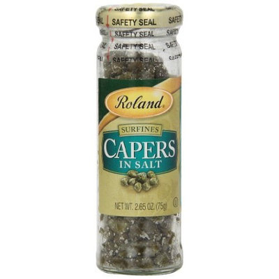 Roland Tiny Capers in Salt, 2.65-Ounce (Pack of 12)