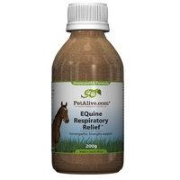 PetAlive EQuine Respiratory Relief, 200-Gram Bottle