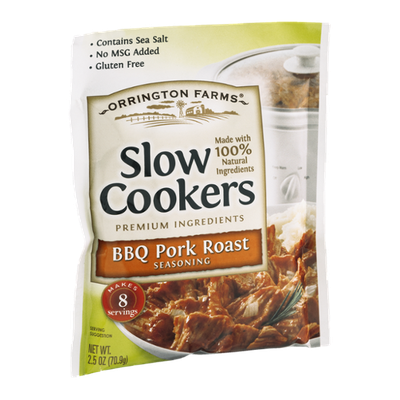 Orrington Farms Slow Cookers Seasoning BBQ Pork Roast