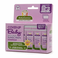 BabyGanics Cover Up Baby Face & Body Sunscreen SPF 50+ Packets