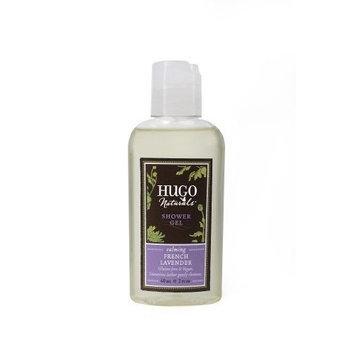 Hugo Naturals Travel Size Shower Gel, French Lavender, 2 Ounce