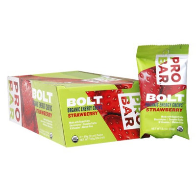 PROBAR BOLT Organic Energy Chews Strawberry
