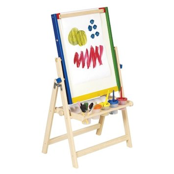 Guidecraft 4-in-1 Flipping Easels Floor Easel