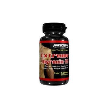 Powernutra Extreme Thyrocin - 90 Capsules Thyroid Function Accelerator