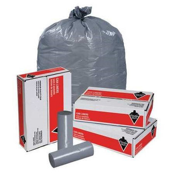 TOUGH GUY 5XL58 Trash Bags,45 gal,1.1 mil, PK100