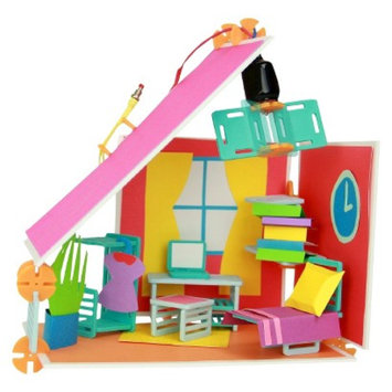 Basic Roominate DIY Dollhouse Building Kit for Girls