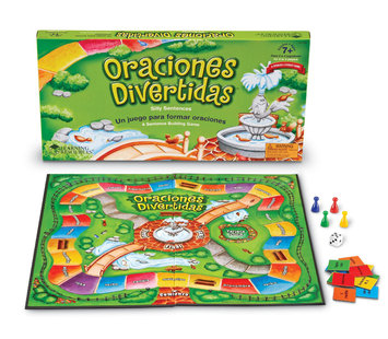Learning Resources LEARNING RESOURCES LER1066 ORACIONES DIVERTIDAS SILLY SENTENCES GAME