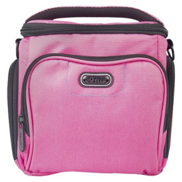 Energizer Bower Medium Adjustable Dividers Dazzle Camera Accessory Bag - Pink