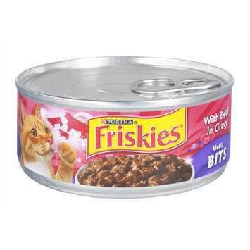Purina Friskies with Beef In Gravy Meaty Bits Cat Food