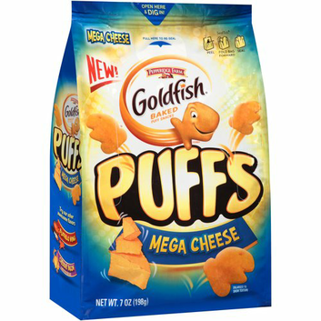 Goldfish® Puffs Mega Cheese Baked Puff Snacks