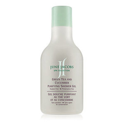 June Jacobs Spa Collection Green Tea and Cucumber Purifying Shower Gel