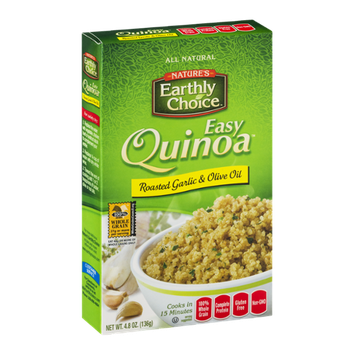 Nature's Earthly Choice Easy Quinoa Roasted Garlic & Olive Oil