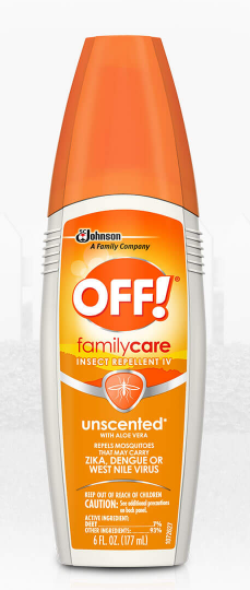 OFF! FamilyCare Insect Repellent IV (Unscented)