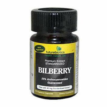 FutureBiotics Bilberry 140 mg 60 Capsules
