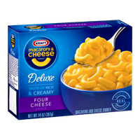 Kraft Deluxe Macaroni & Cheese Dinner Four Cheese
