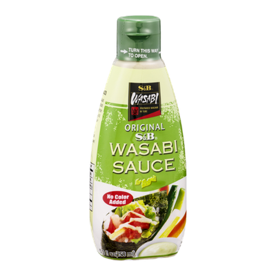 S&B Wasabi Sauce Original