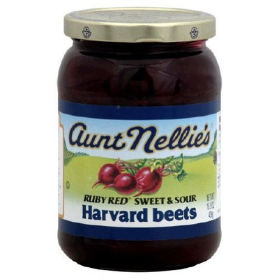 WNY's Own Aunt Nellie's Ruby Red Sweet and Sour Harvard Beet Vegetables 15.5 Oz.