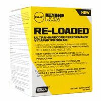 GNC Beyond RAW RE-LOADED Performance Vitapak, 30 ea