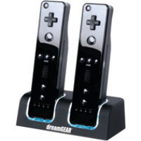 DreamGear Dual Dock for Wii - Black