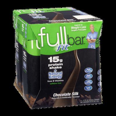 Fullbar Fit Chocolate Silk Protein Shake - 4 CT