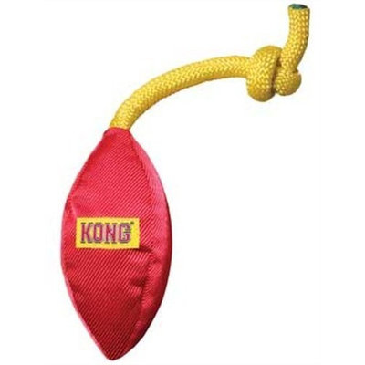KONG Funsters Football Dog Toy, Small, Colors Vary
