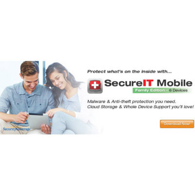 SecurityCoverage Inc. SecureIT Mobile, Family (iOS, Android) (Digital Code)