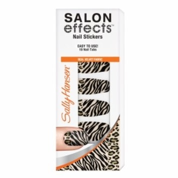 Sally Hansen Salon Effects Nail Stickers, Faux Real, 18 ea