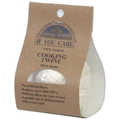 If You Care J25031 Natural Cooking Twine, 200-Feet