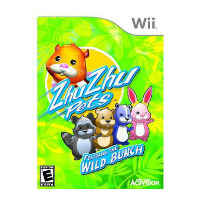 Activision ZhuZhu Pets: Featuring the Wild Bunch (Nintendo Wii)