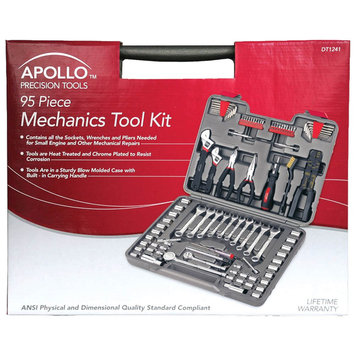 Apollo Precision Tools 95-Piece Mechanics Tool Kit