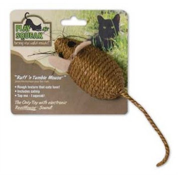 Our Pet's OurPets Play-N-Squeak Ruff-N-Tumble Sisal Cat Toy