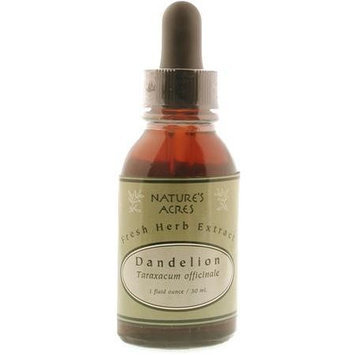Four Elements - Fresh Herb Extract, Dandelion, 1 oz