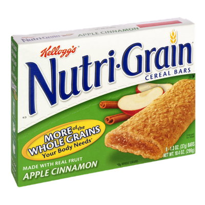 Kellogg's® Nutri-Grain® Cereal Bars Apple Cinnamon