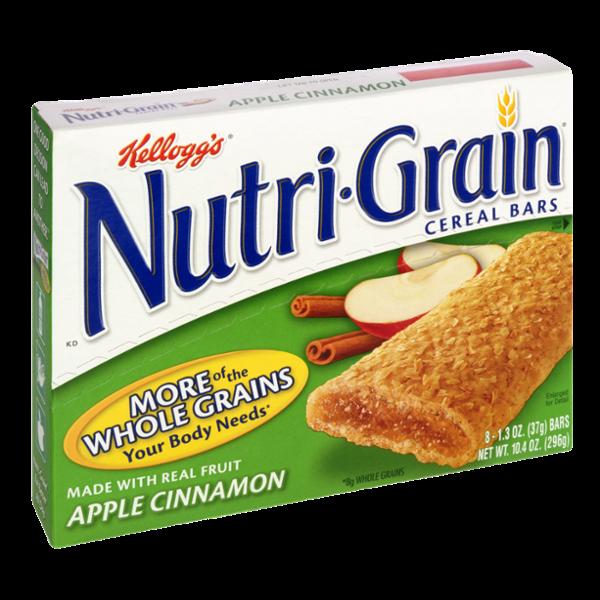 Kellogg's Nutri-Grain Apple Cinnamon Cereal Bars - 8 ct