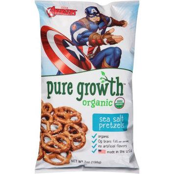 Pure Growth Organic Foods Pure Growth Marvel Avengers Organic Sea Salt Pretzels, 7 oz