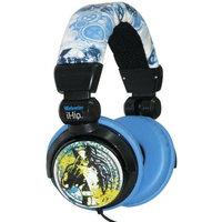 Zeikos iHip MVF10264WO Marvel Wolverine Extreme DJ Headphone, Yellow/Blue [Standard Packaging]