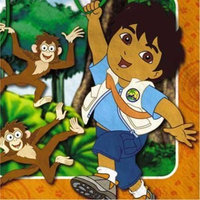 Party America Go, Diego, Go! Lunch Napkins, 16ct